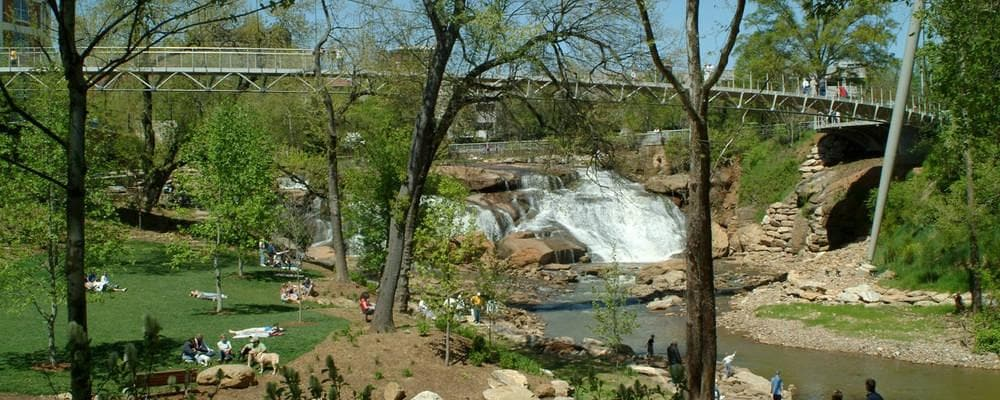 Falls Park on Reedy River