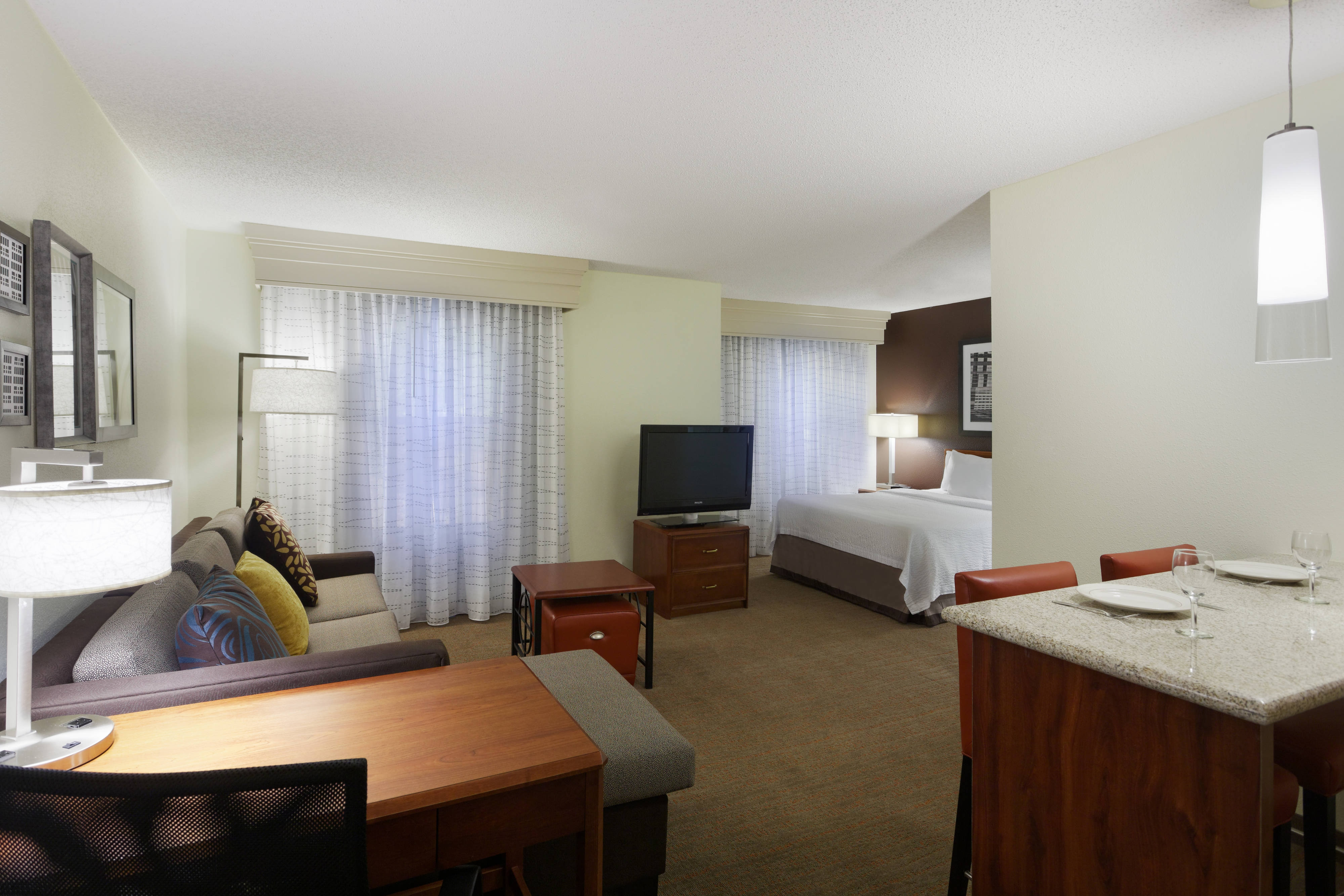 hotel room near greenville airport