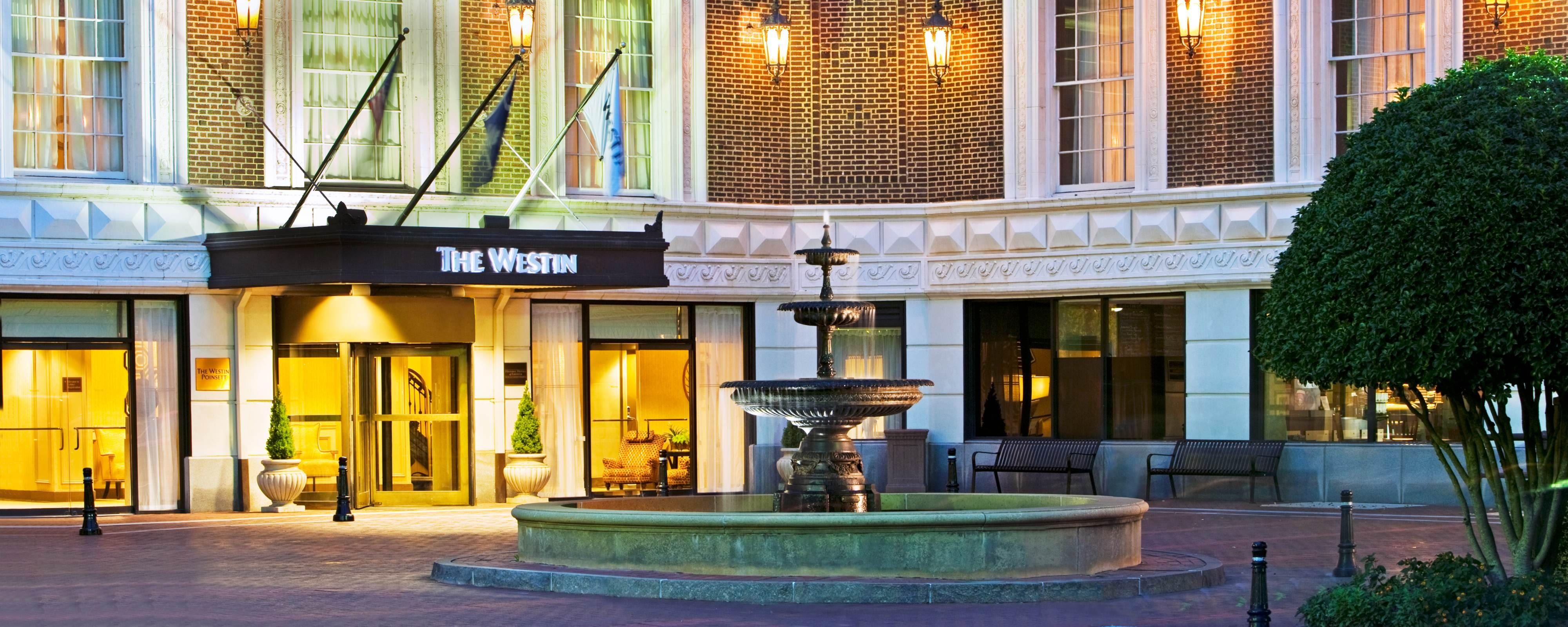 Four Diamond Hotel In Downtown Greenville The Westin Poinsett
