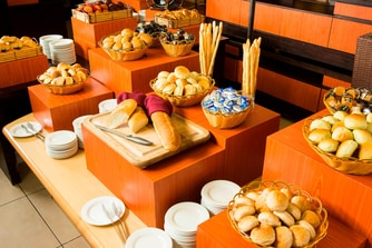 La Cascata Bread Station