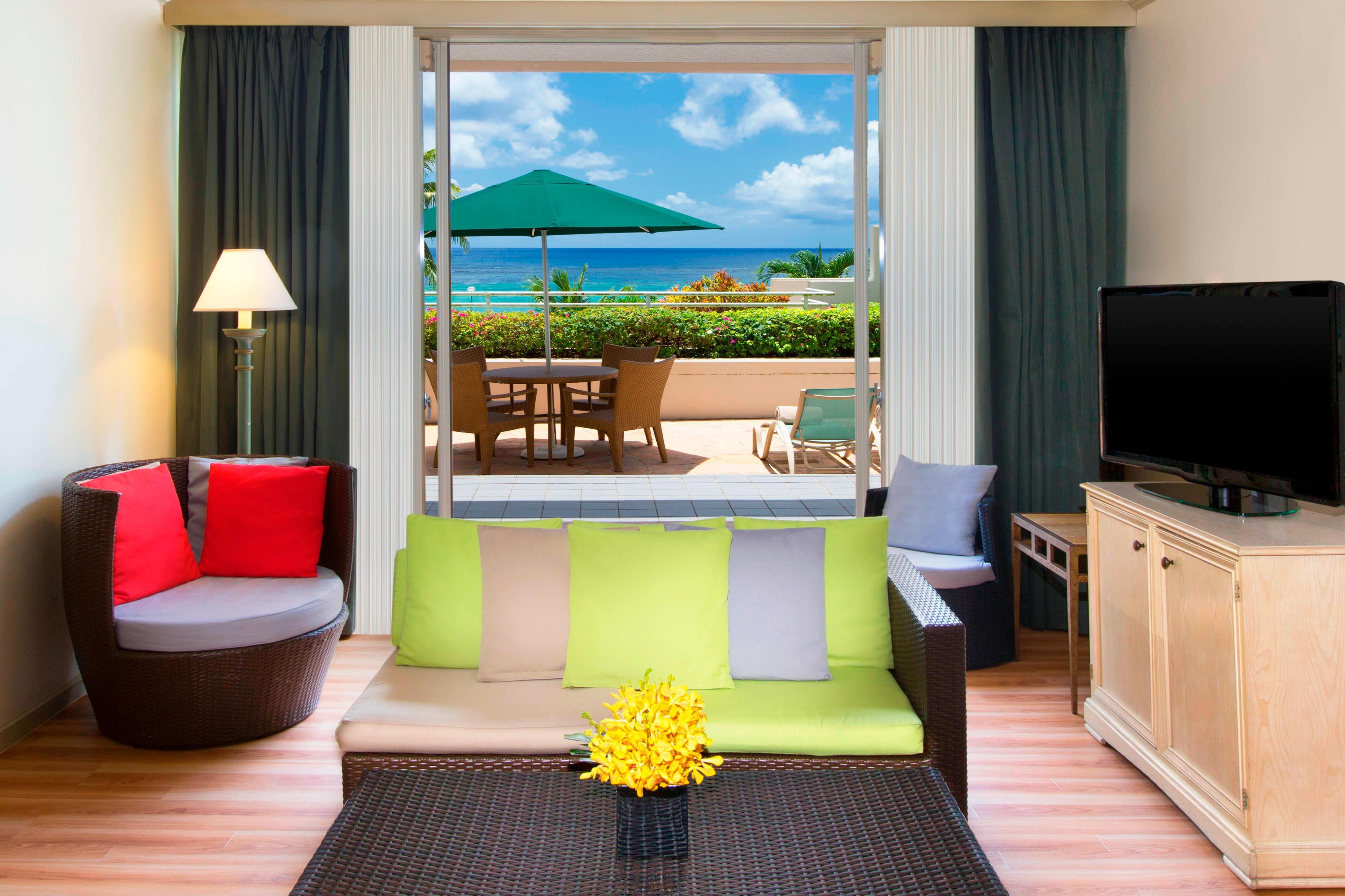 Ocean Front Villa - Patio