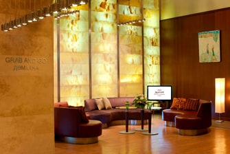 Marriott Apartments Atyrau Lobby