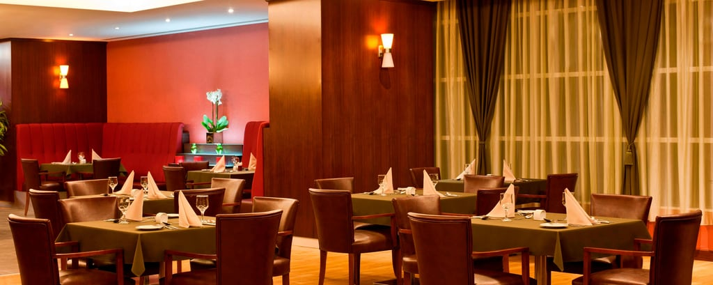 Restaurante del Marriott Apartments Atyrau