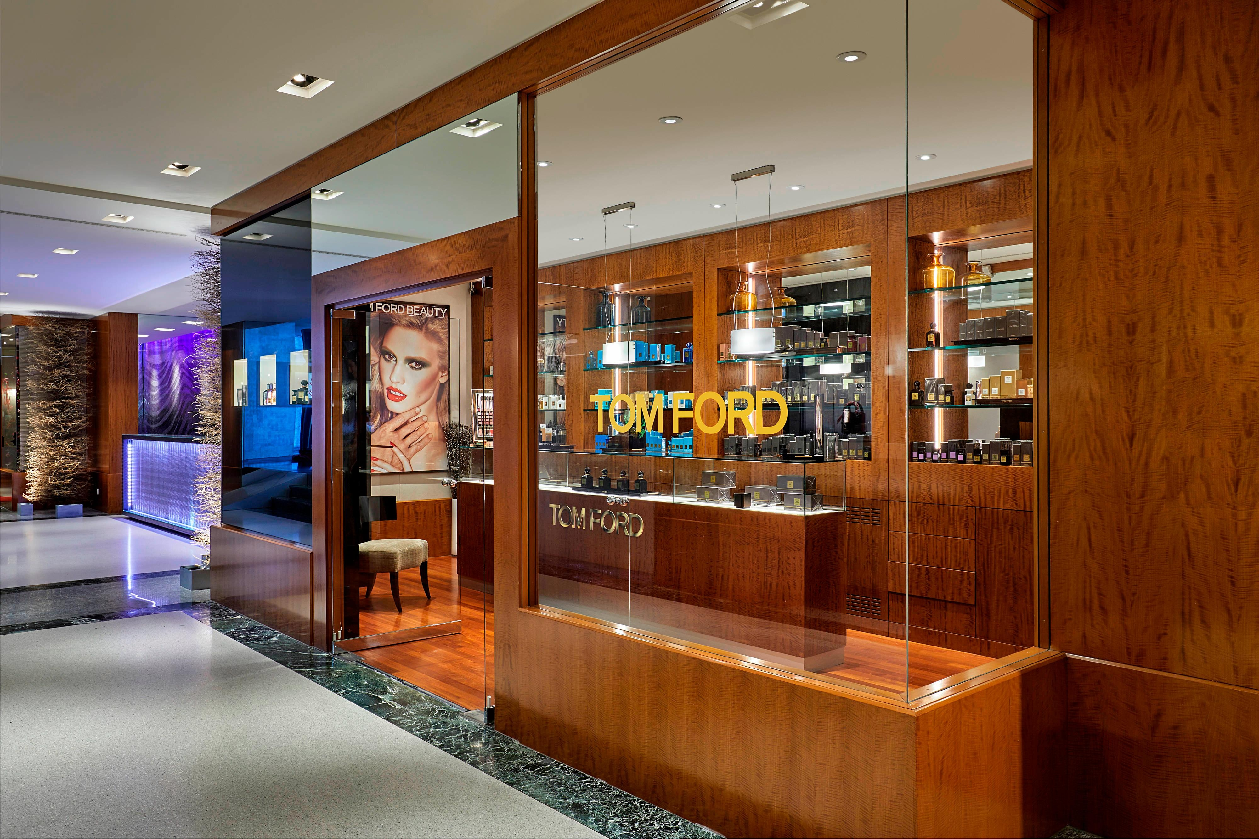 Tom Ford beauty shop