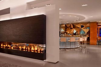 Glow Bar Impressive fireplace
