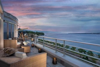 Suite royale Penthouse, terrasse royale