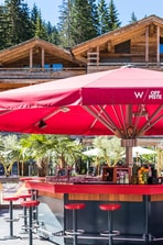 W Off Piste - Bar area in summer