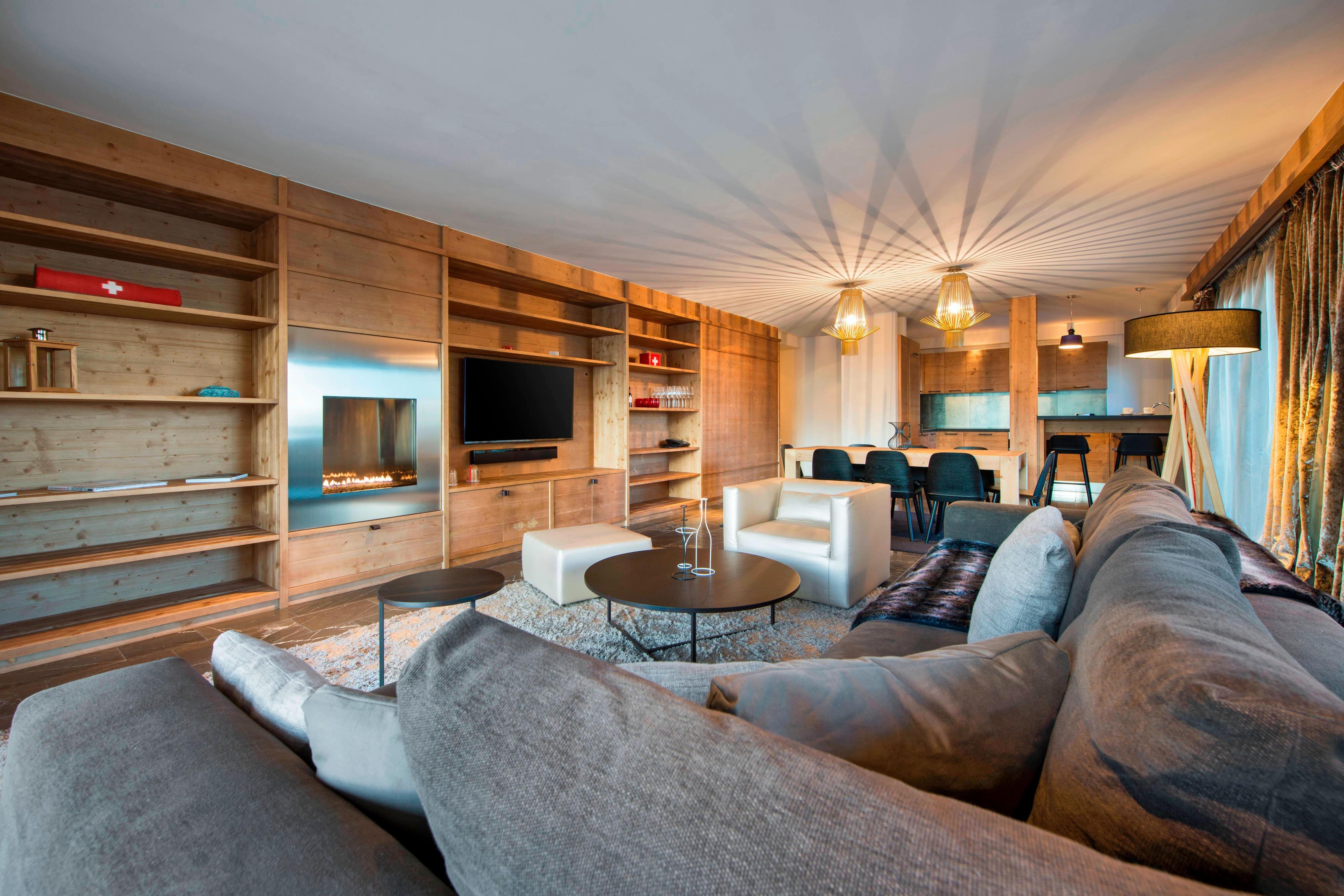 Wonderful Residence Living Room
