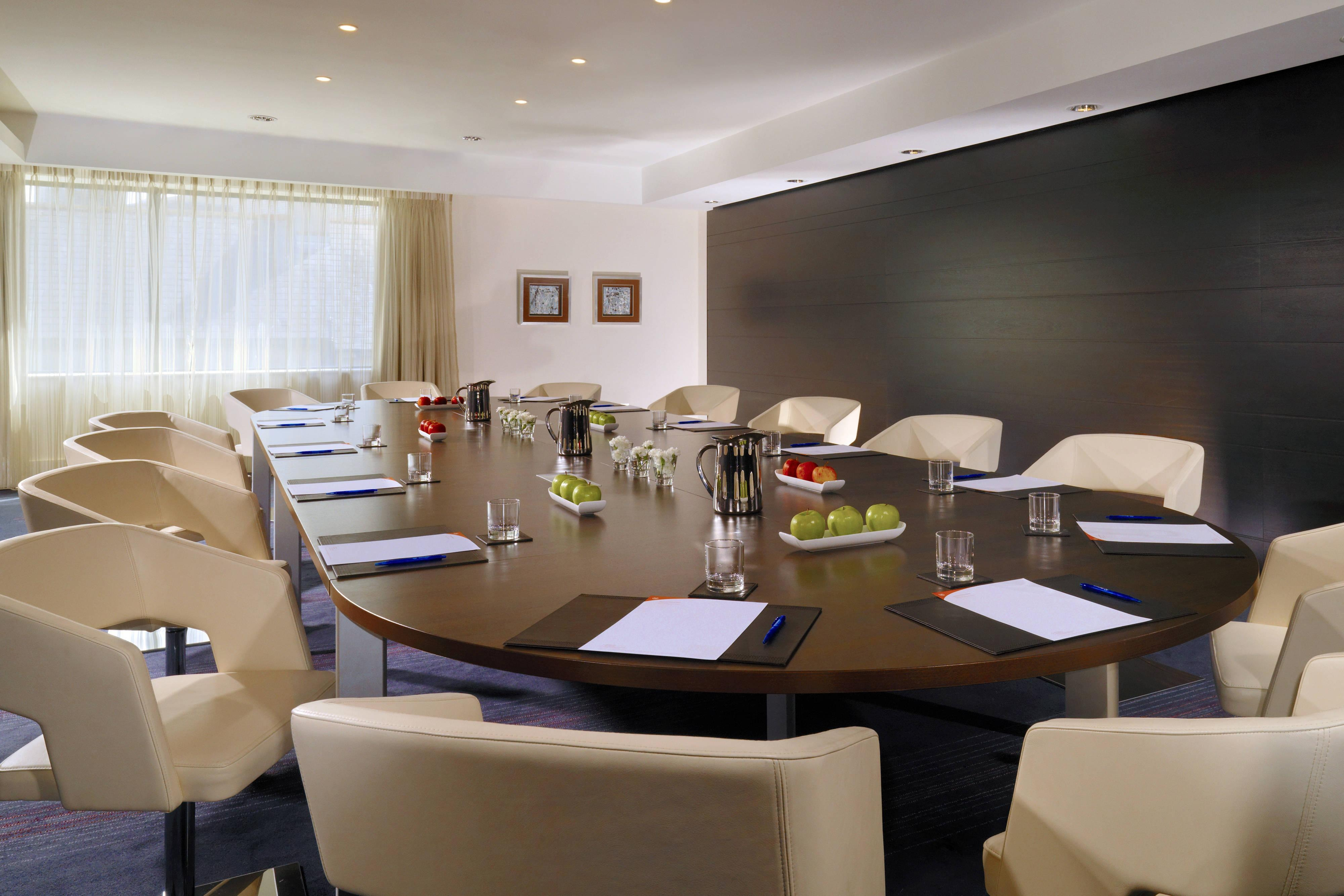The Fitzgerald Suite Set for a Boardroom Meeting
