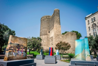 Maiden Tower, Old City Baku