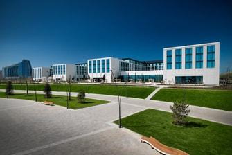 Архитектурный облик отеля Boulevard Hotel (Баку)