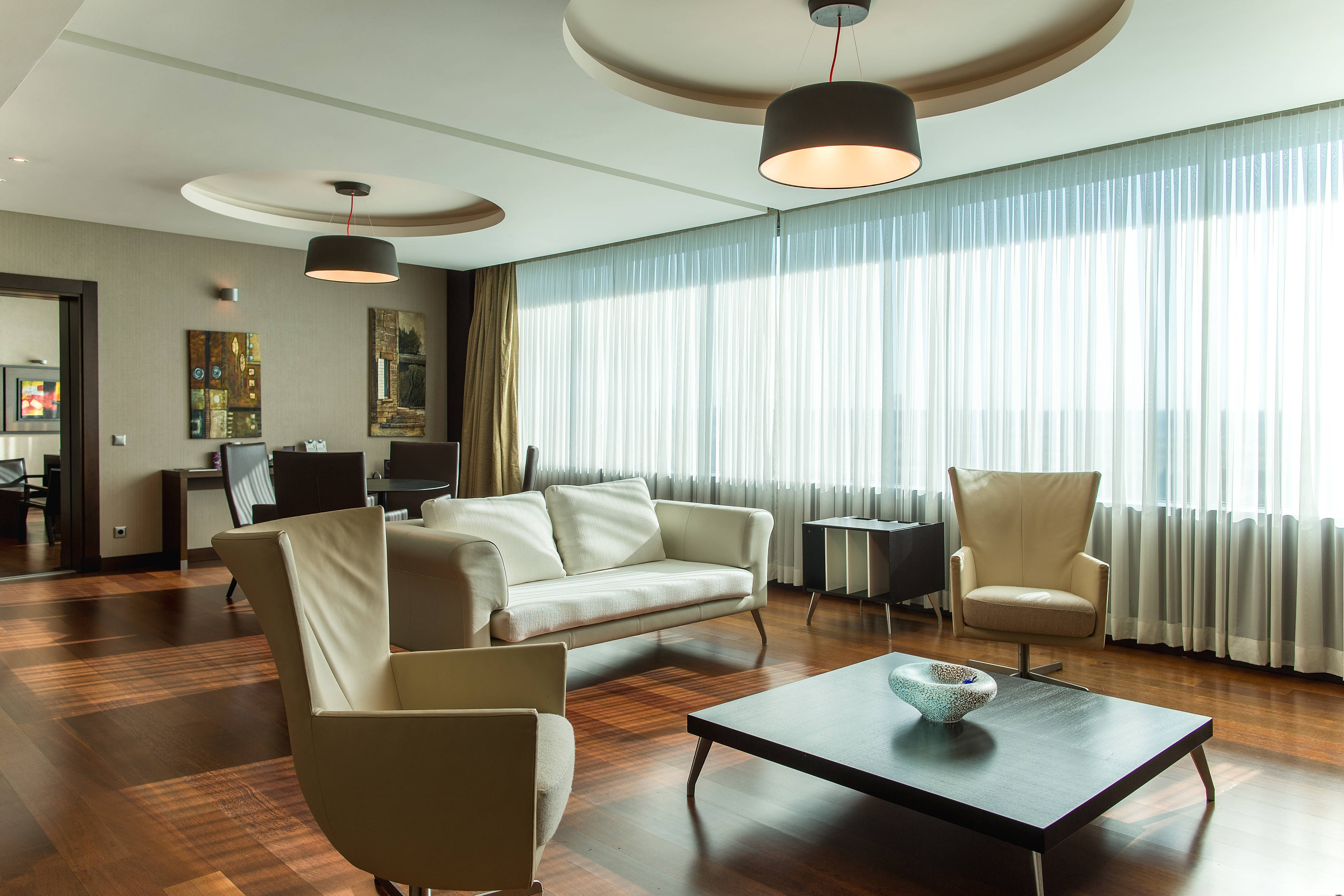 Presidential Guest Room - Living Area