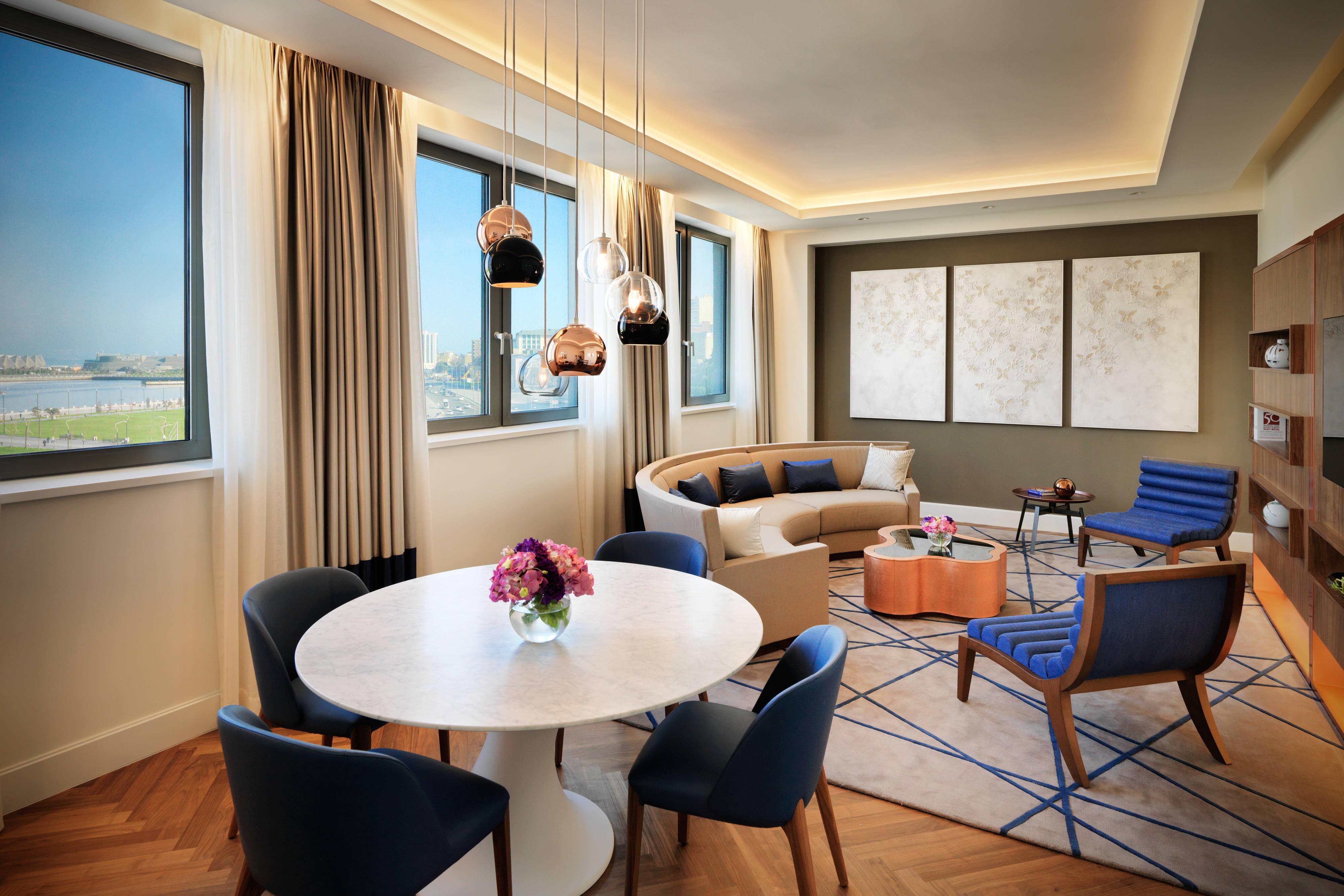 Khazar Suite – Wohnzimmer