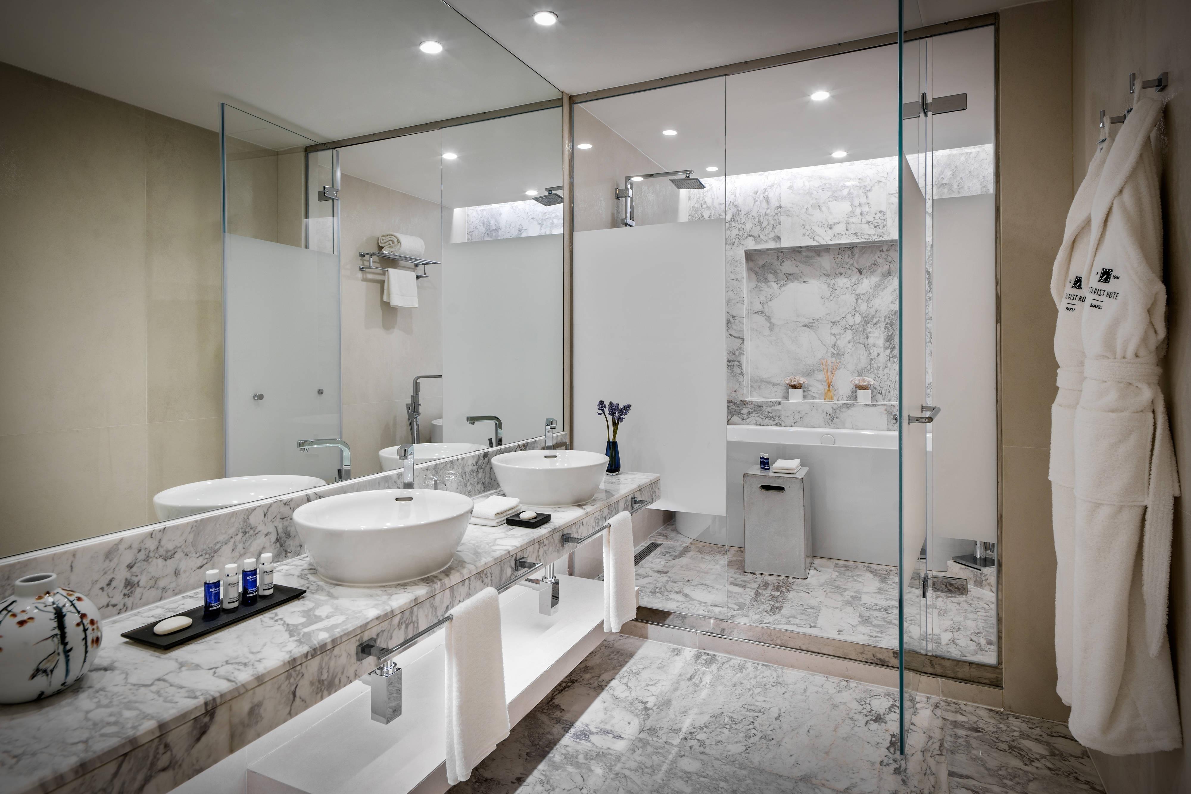 Baño del Intourist Hotel Baku