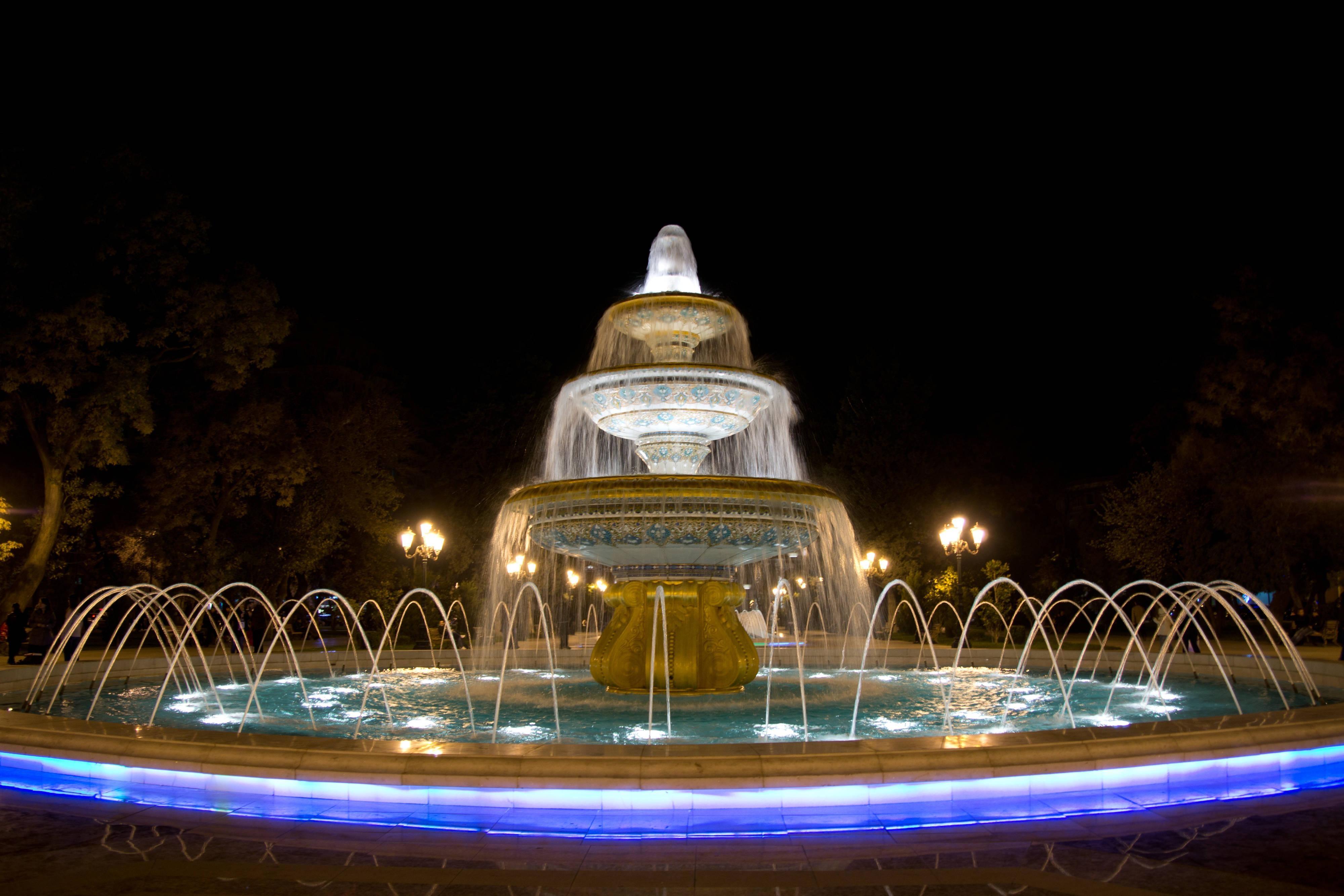 Fuente de Bakú