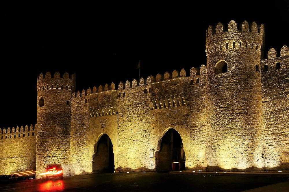 Baku gates to old city