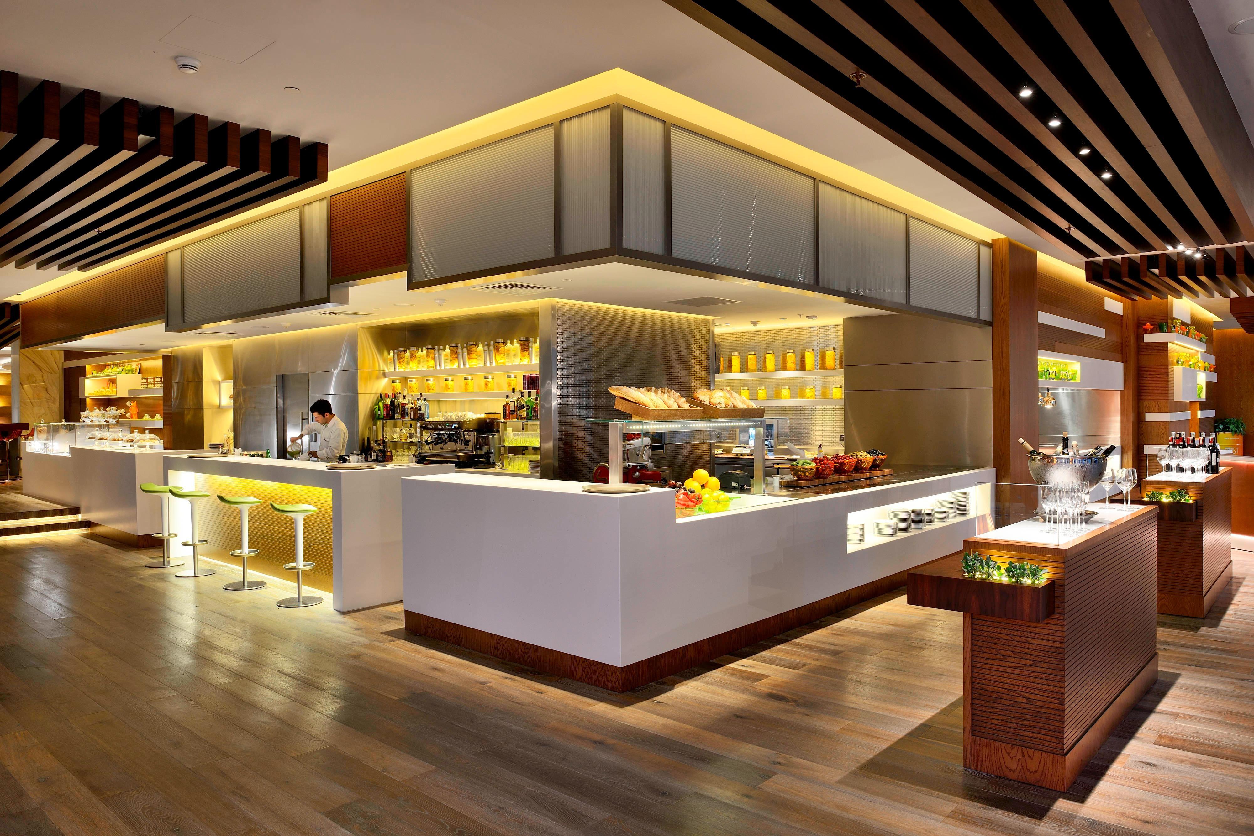 Restaurante del hotel de Bakú