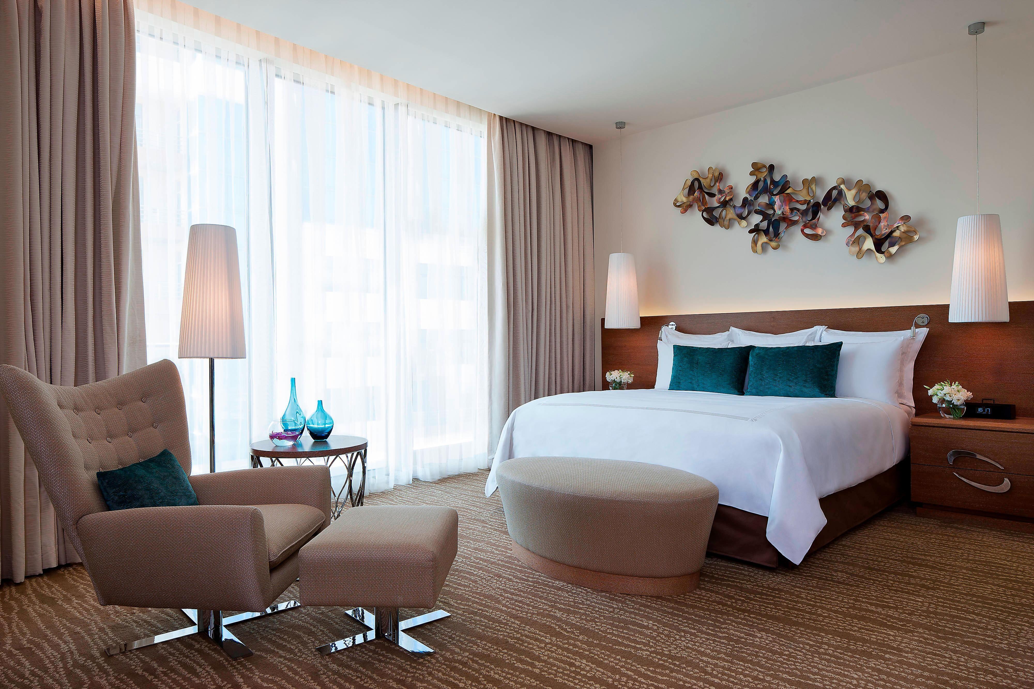 Habitación de hotel de 5 estrellas en Bakú