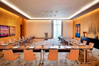 Hotel meeting room in Baku