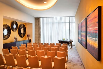 Baku business hotel meeting room