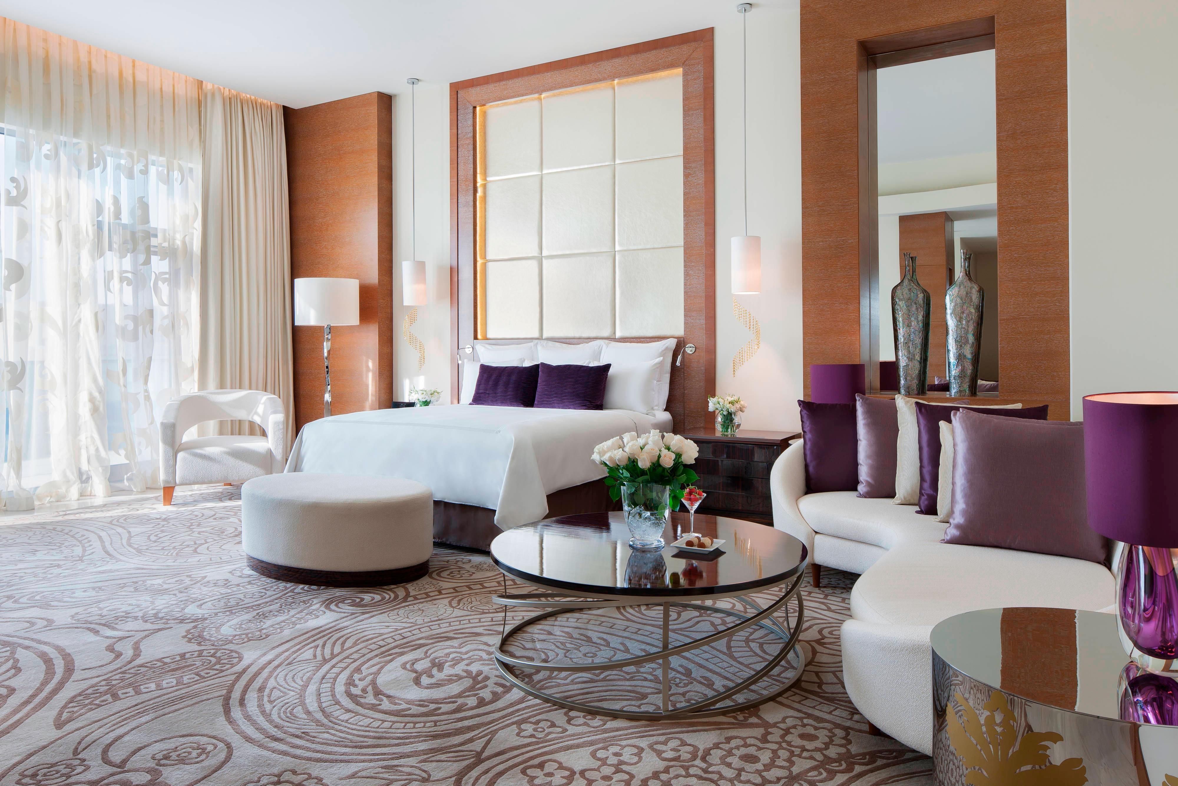Suite presidencial en hotel de Bakú