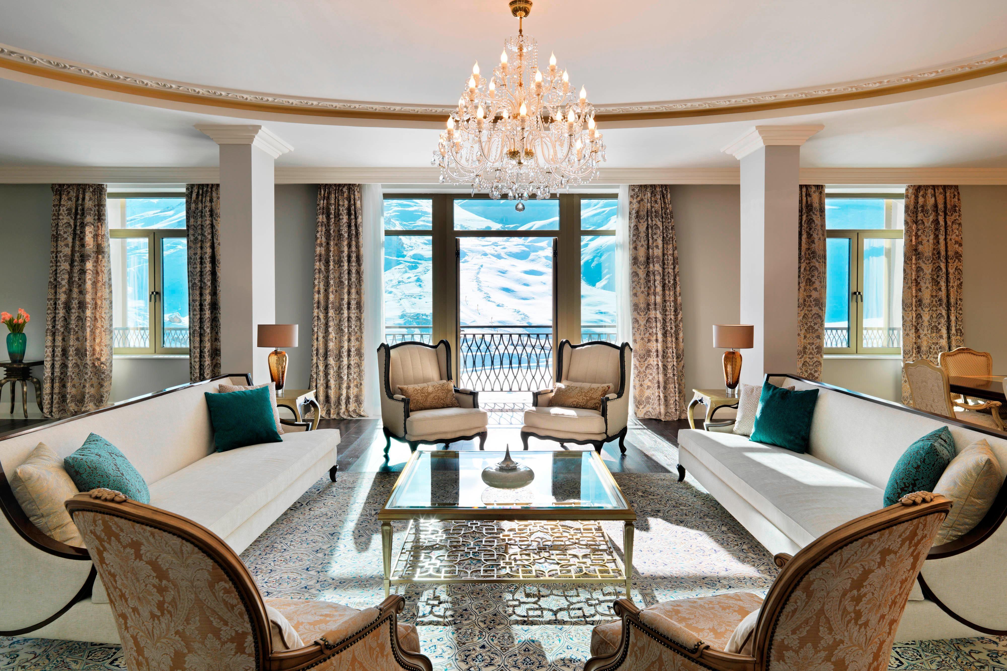 Royal Suite at Pik Palace Hotel Shahdag
