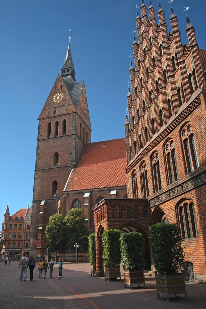 Hannover church near Courtyard Hannover