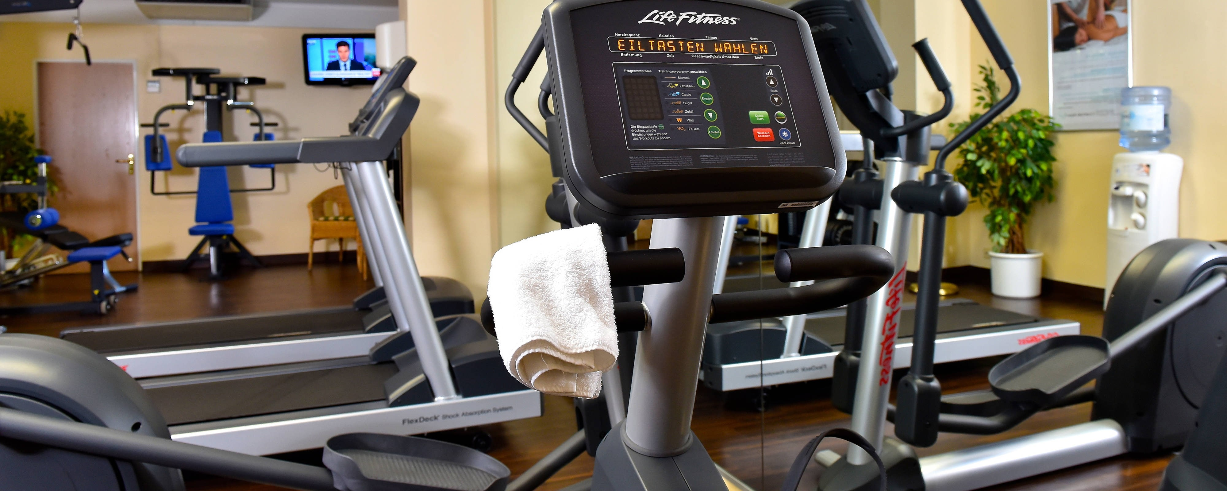 Hamburg Airport Hotel Fitness Center