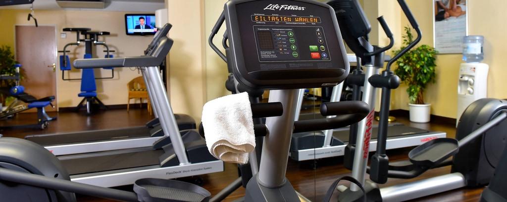 Fitnesscenter im Hotel am Flughafen Hamburg