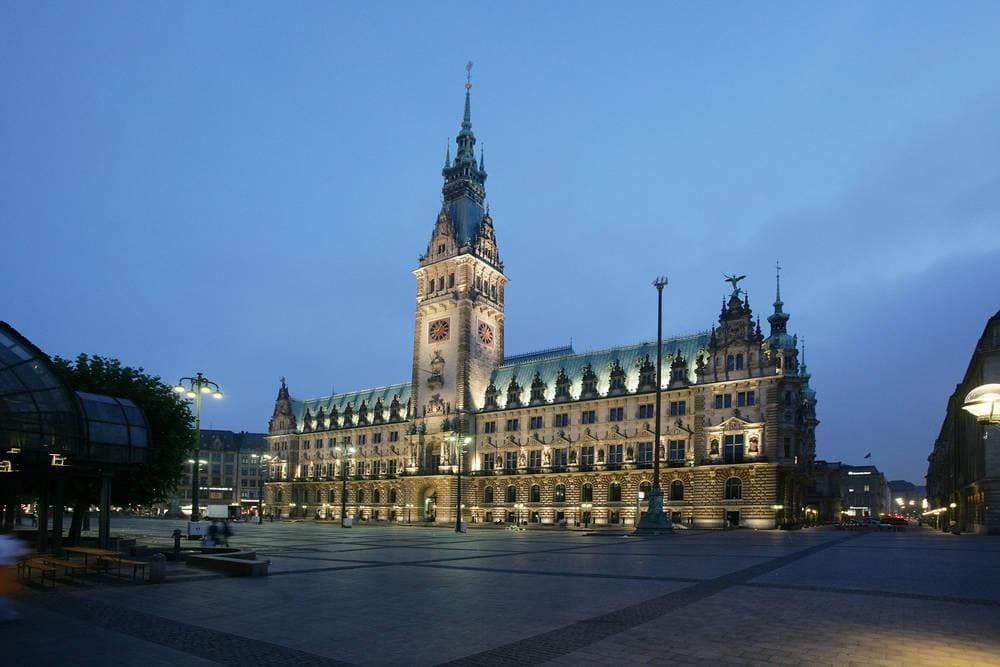 Townhall of Hamburg