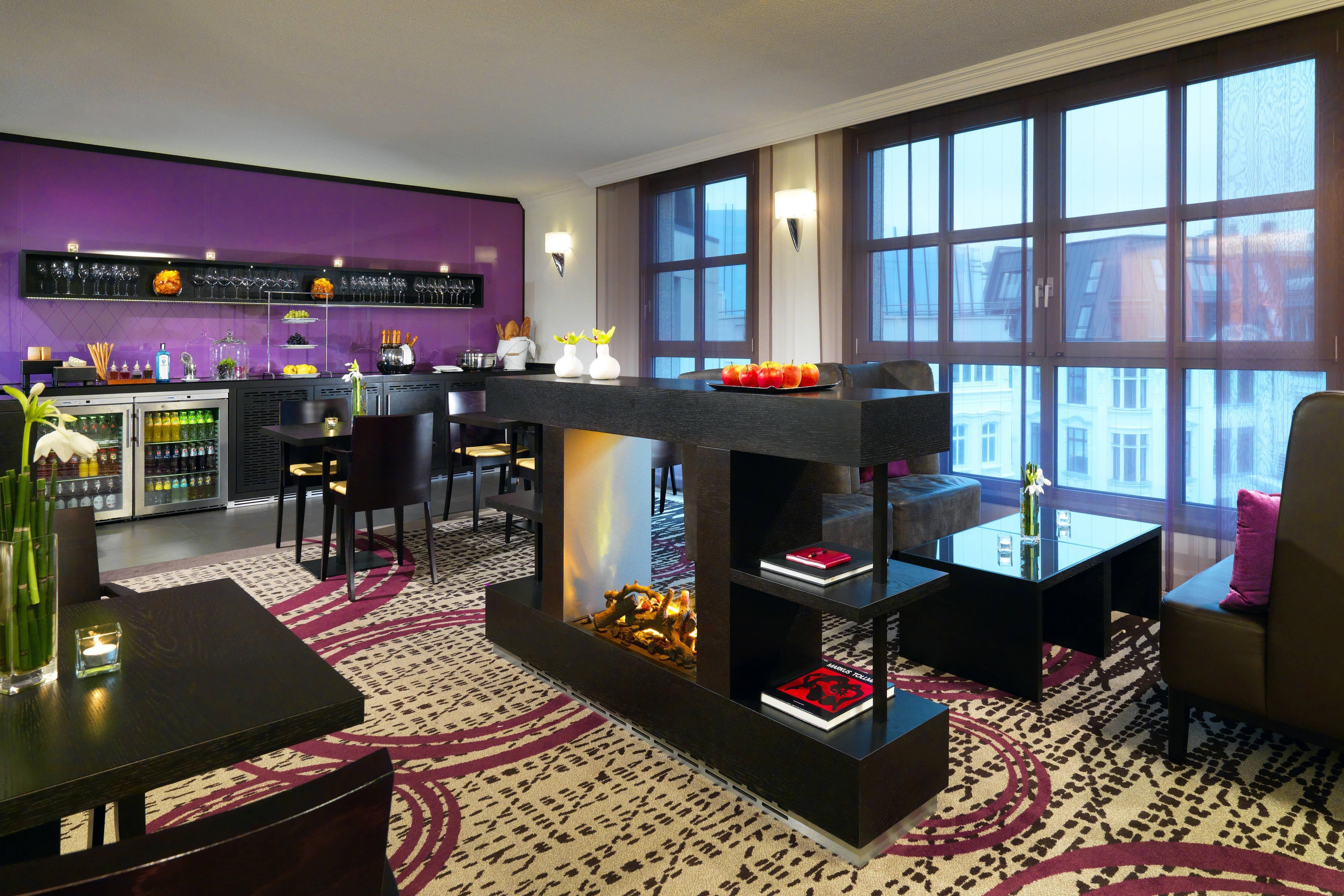 Executive-Lounge in Hotel in Hamburg
