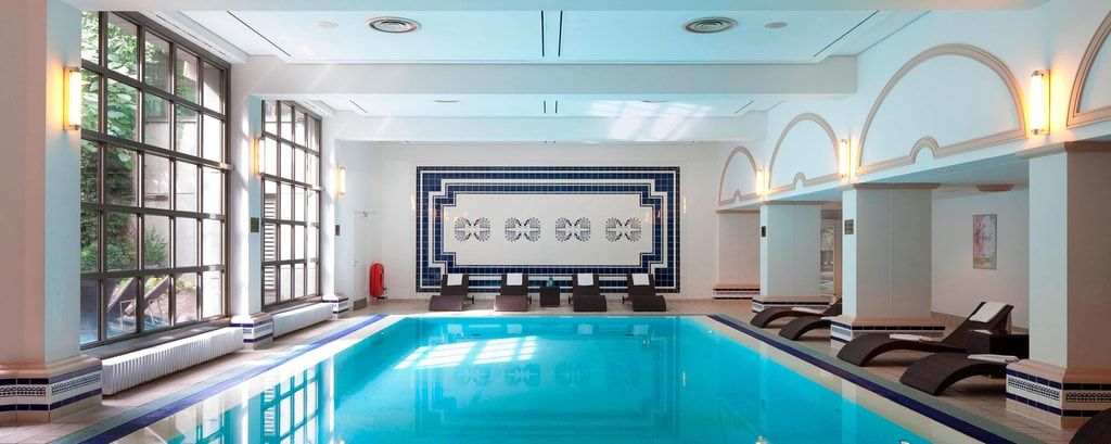 Hamburg Marriott Hotel Indoor Pool