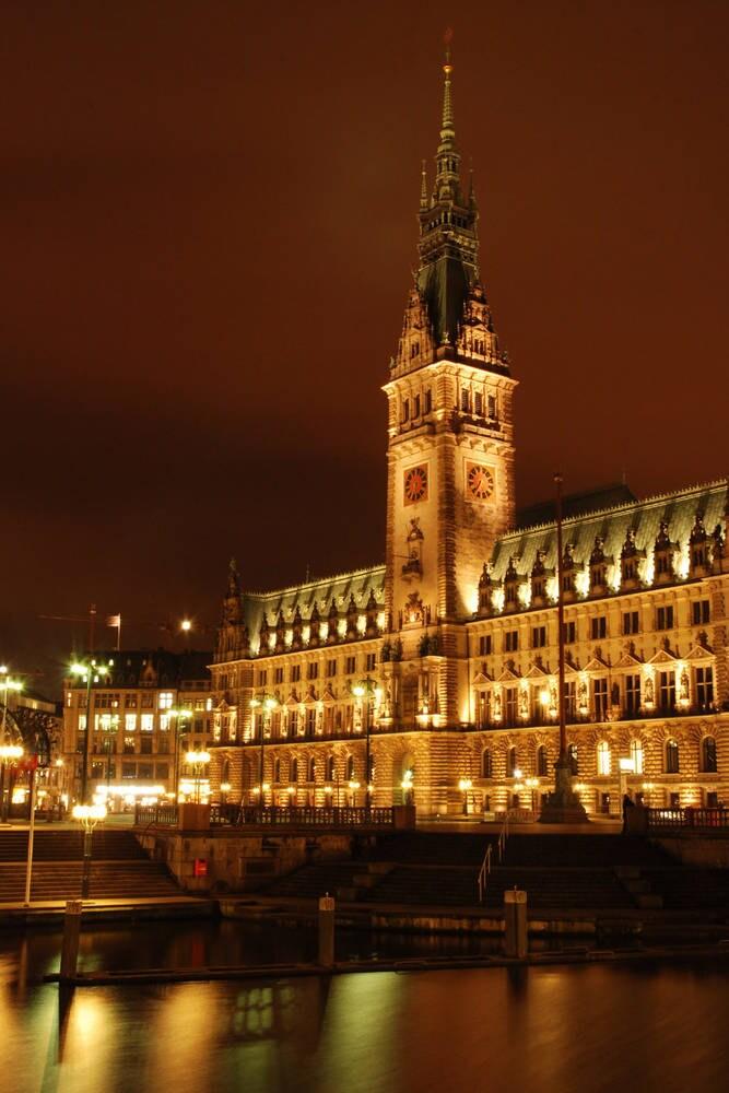 Hamburgs Wahrzeichen, das Rathaus