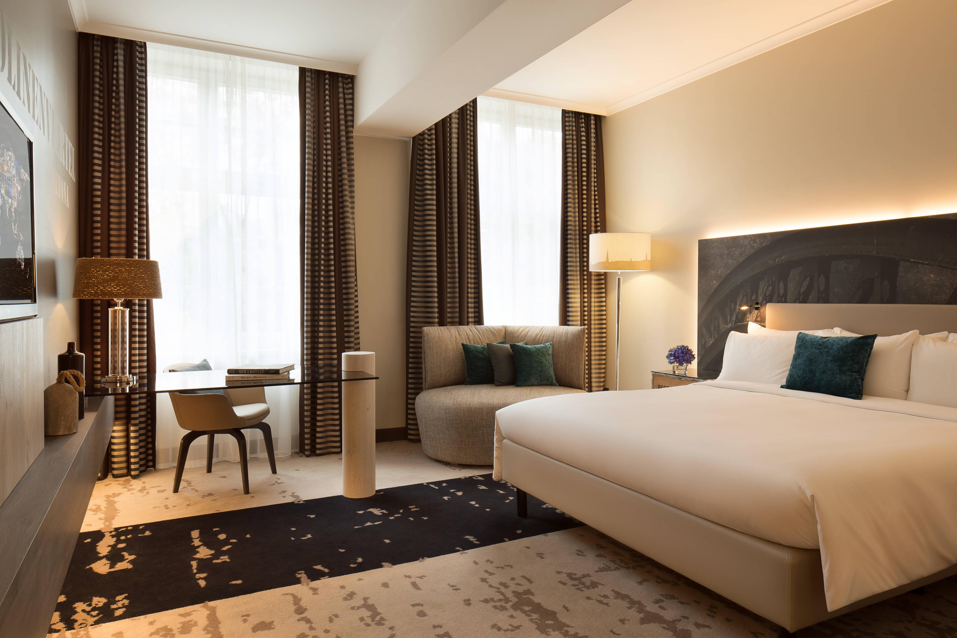 Deluxe-Gästezimmer in Hotel in Hamburg