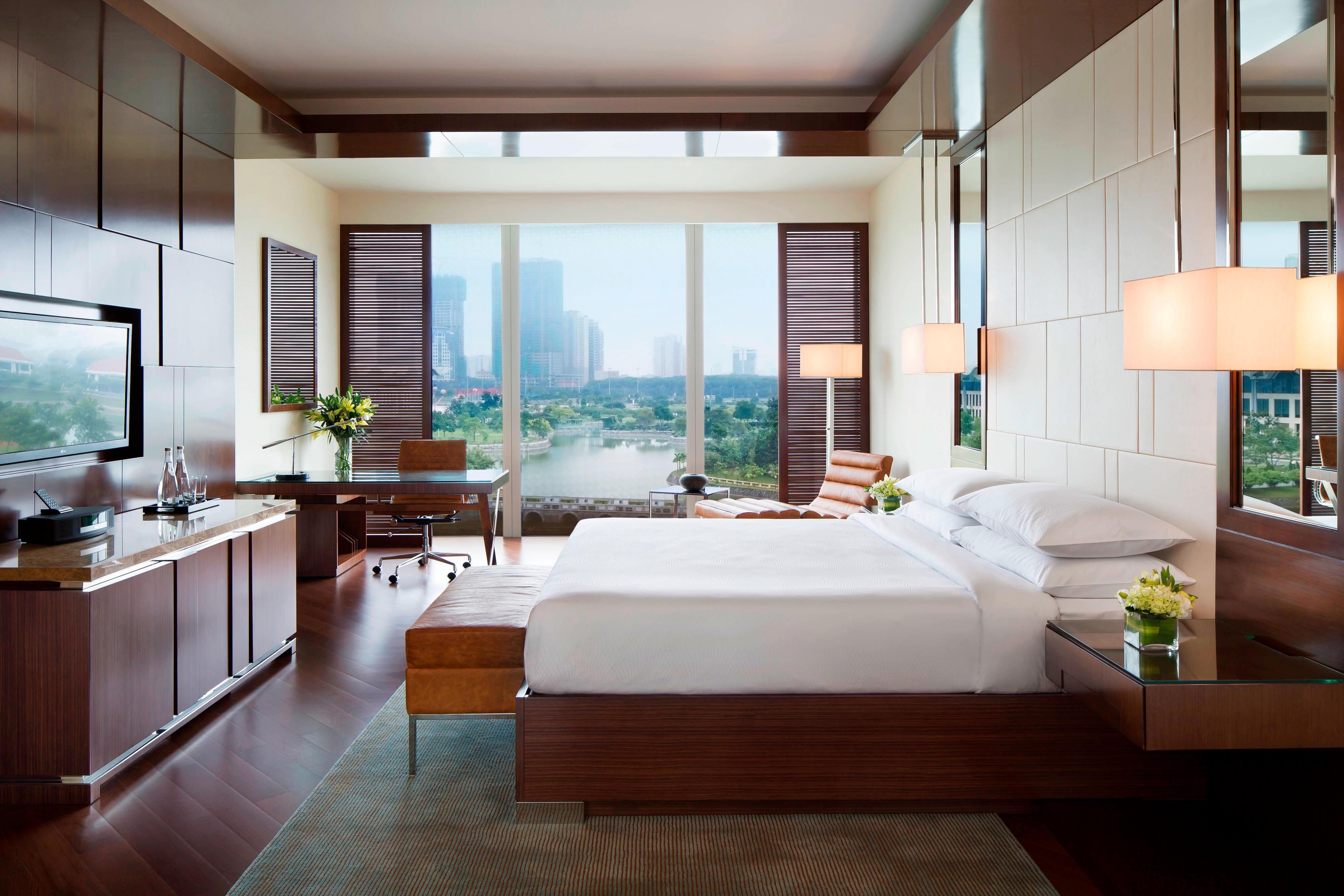 ベトナムのハノイの豪華な客室