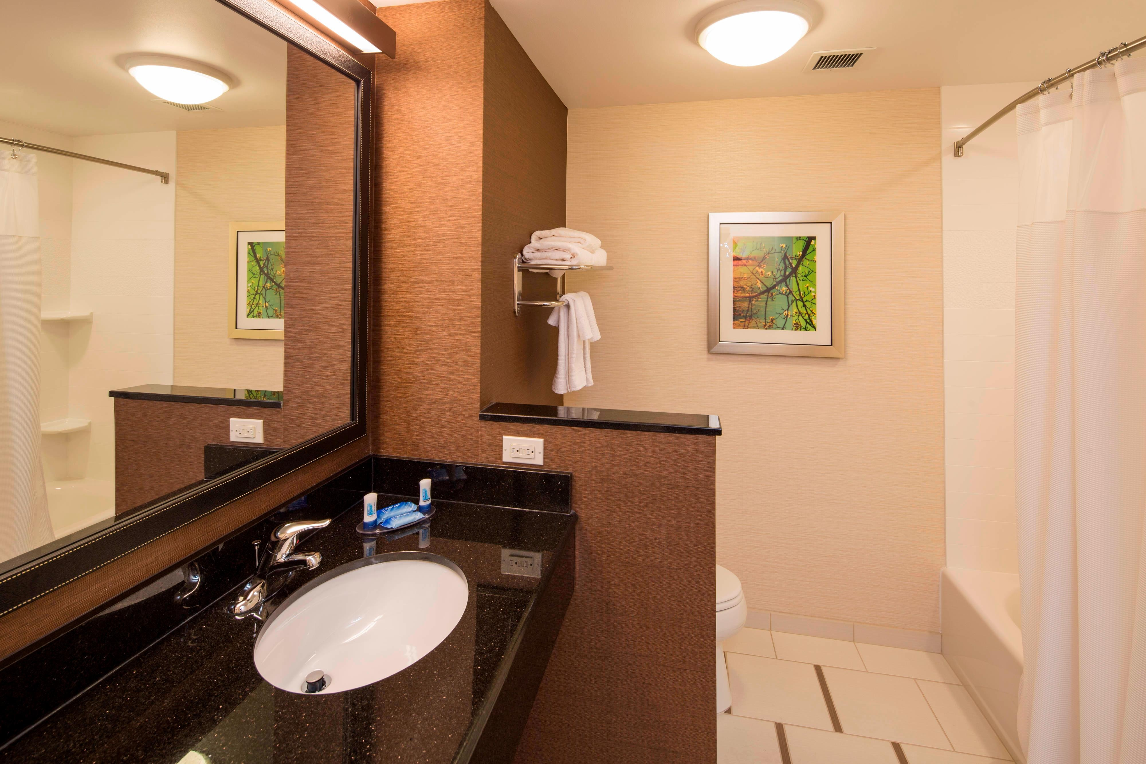 Guest Bathroom with Tub & Shower