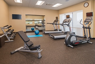 Fitness Center at Shippensburg Courtyard