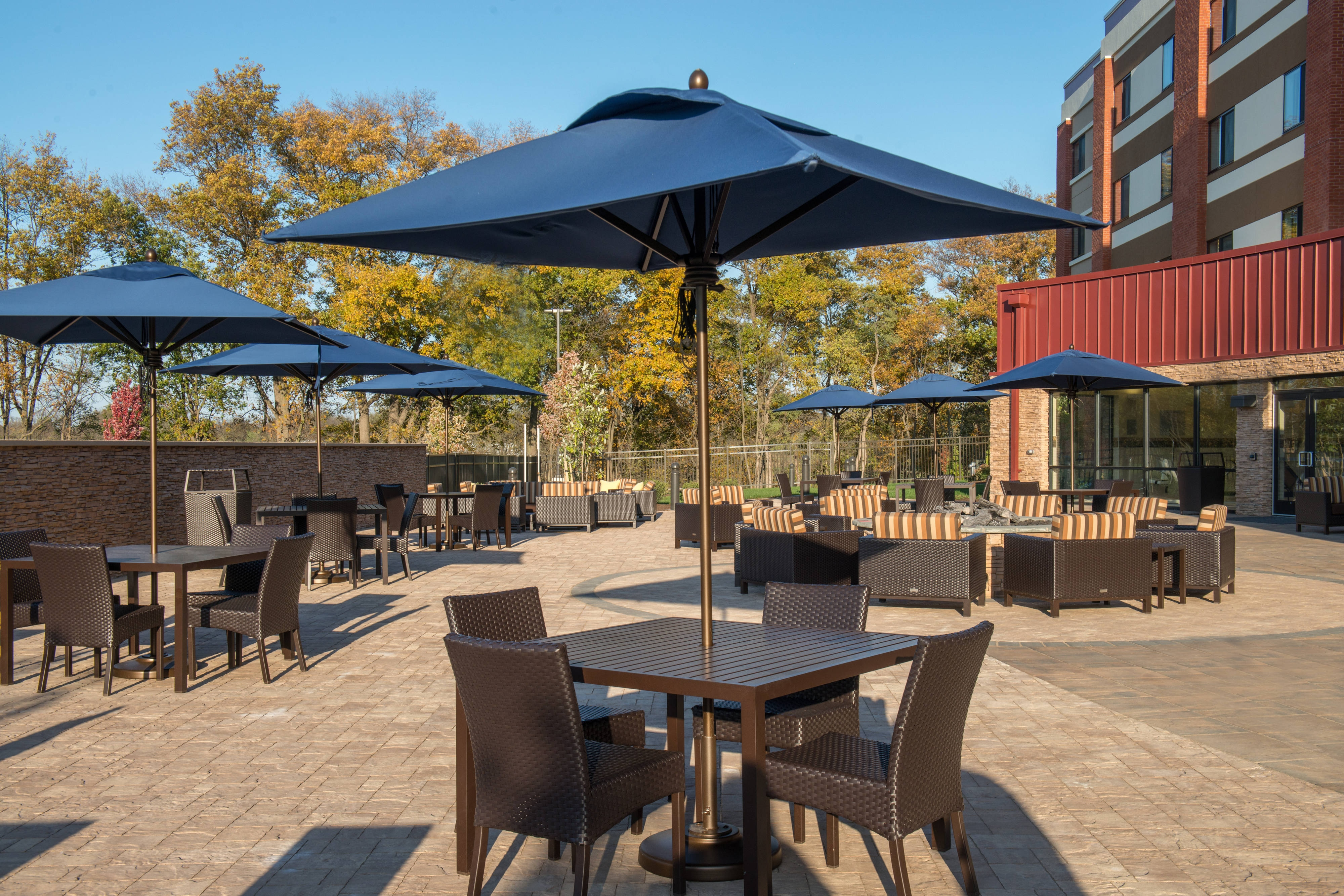 Hotel Near Shippensburg University Outdoor Patio