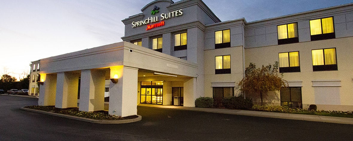 springhill suites hershey spacious studio suites in hershey. Black Bedroom Furniture Sets. Home Design Ideas