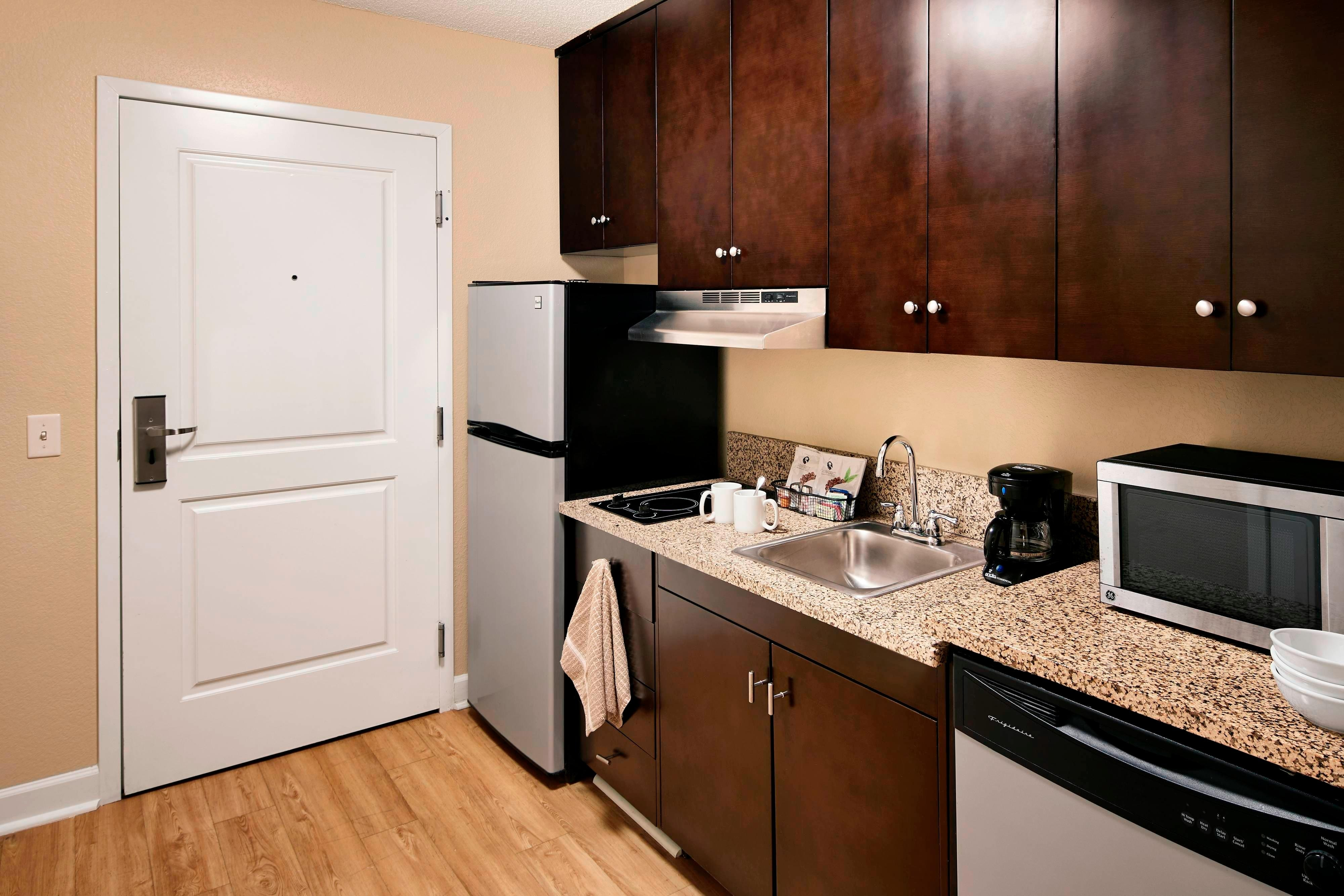 One & Two Bedroom Suite Kitchen