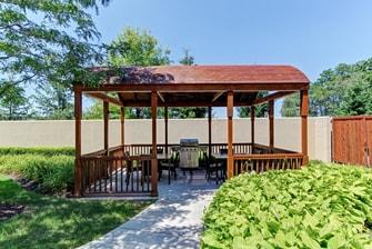 Harrisburg Mechanicsburg hotel outdoor patio