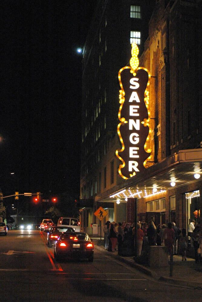 Saenger Theater – Hattiesburg Courtyard