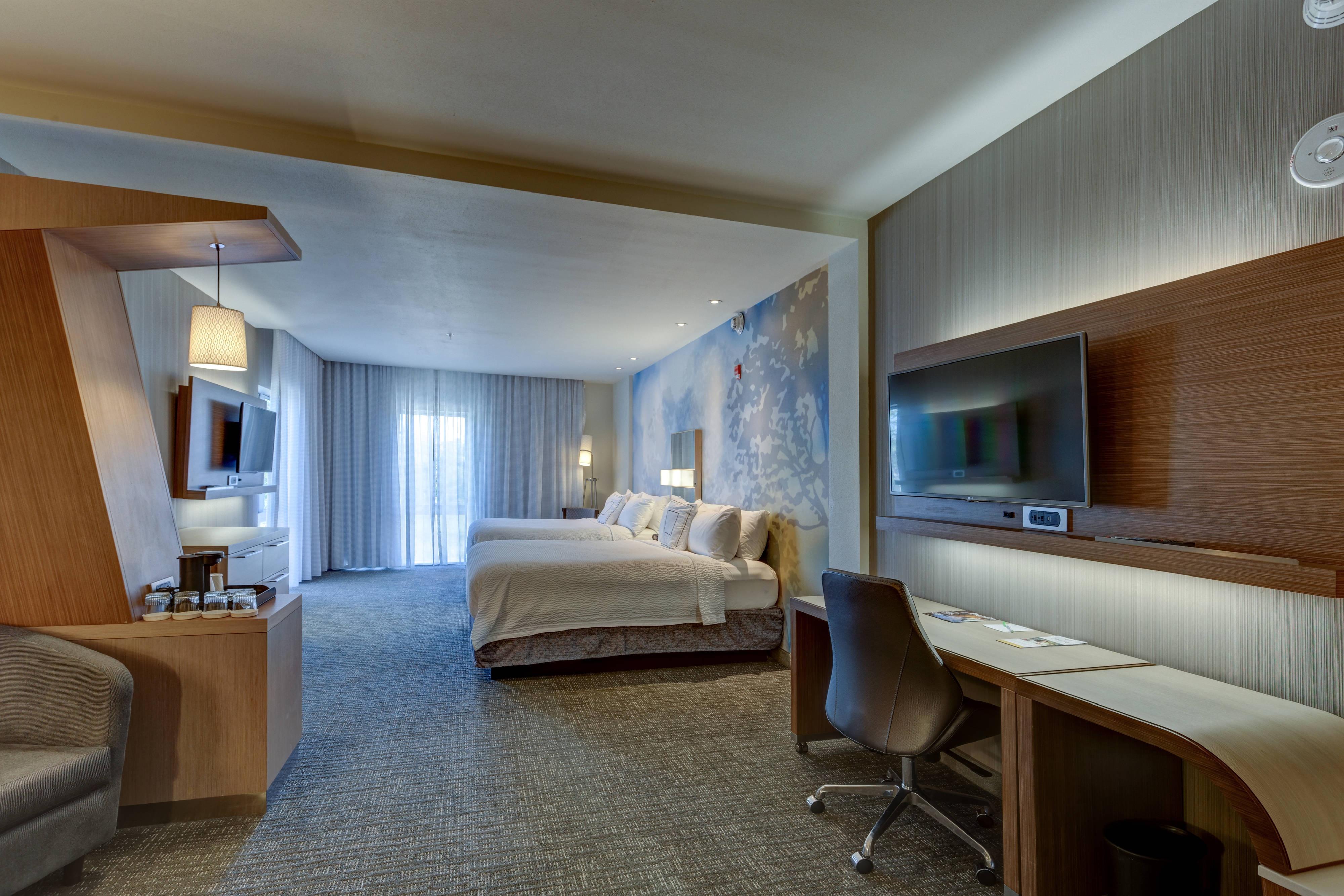 Suite avec deux grands lits doubles