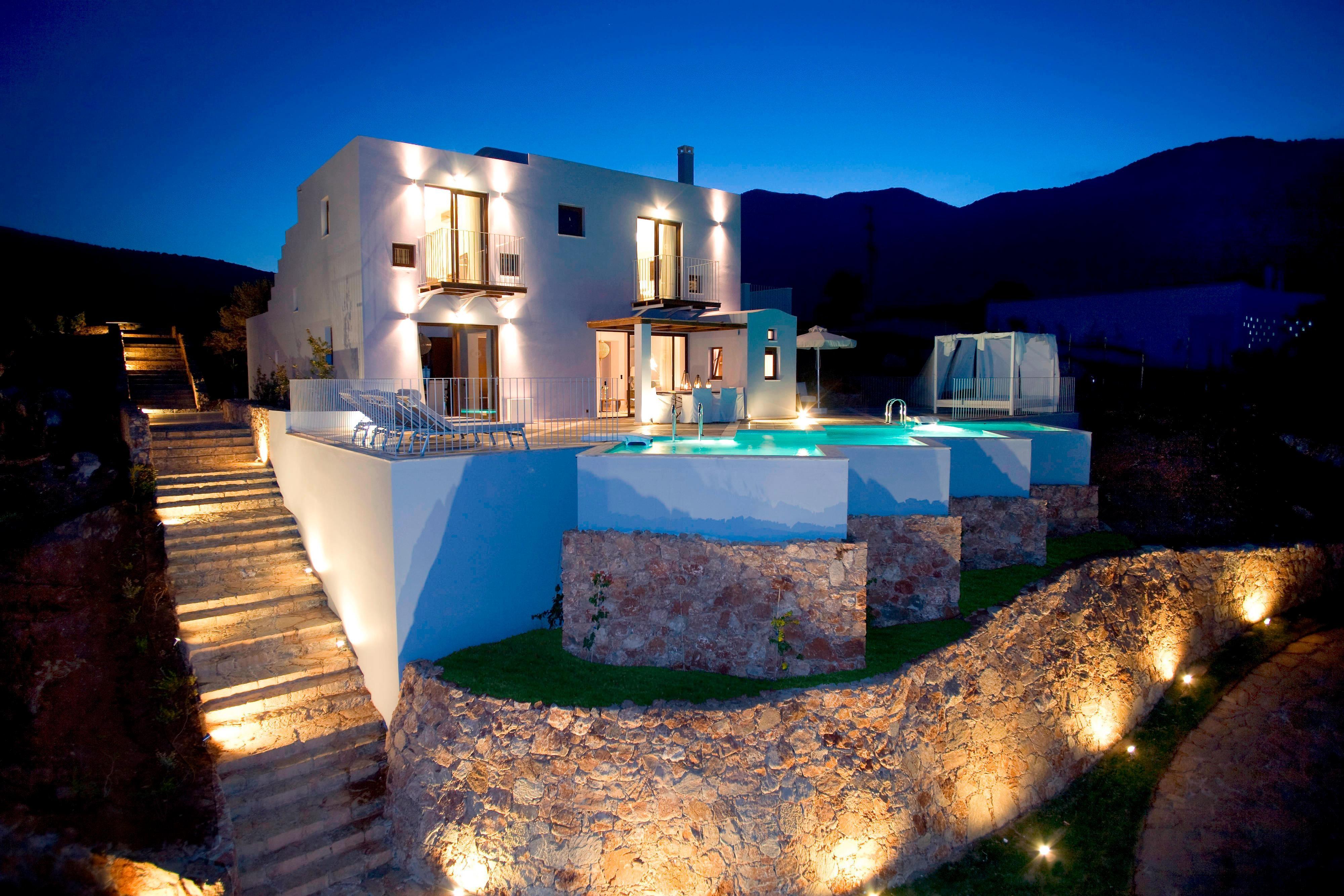 Villa Ultraluxe à troischambres-espace extérieur