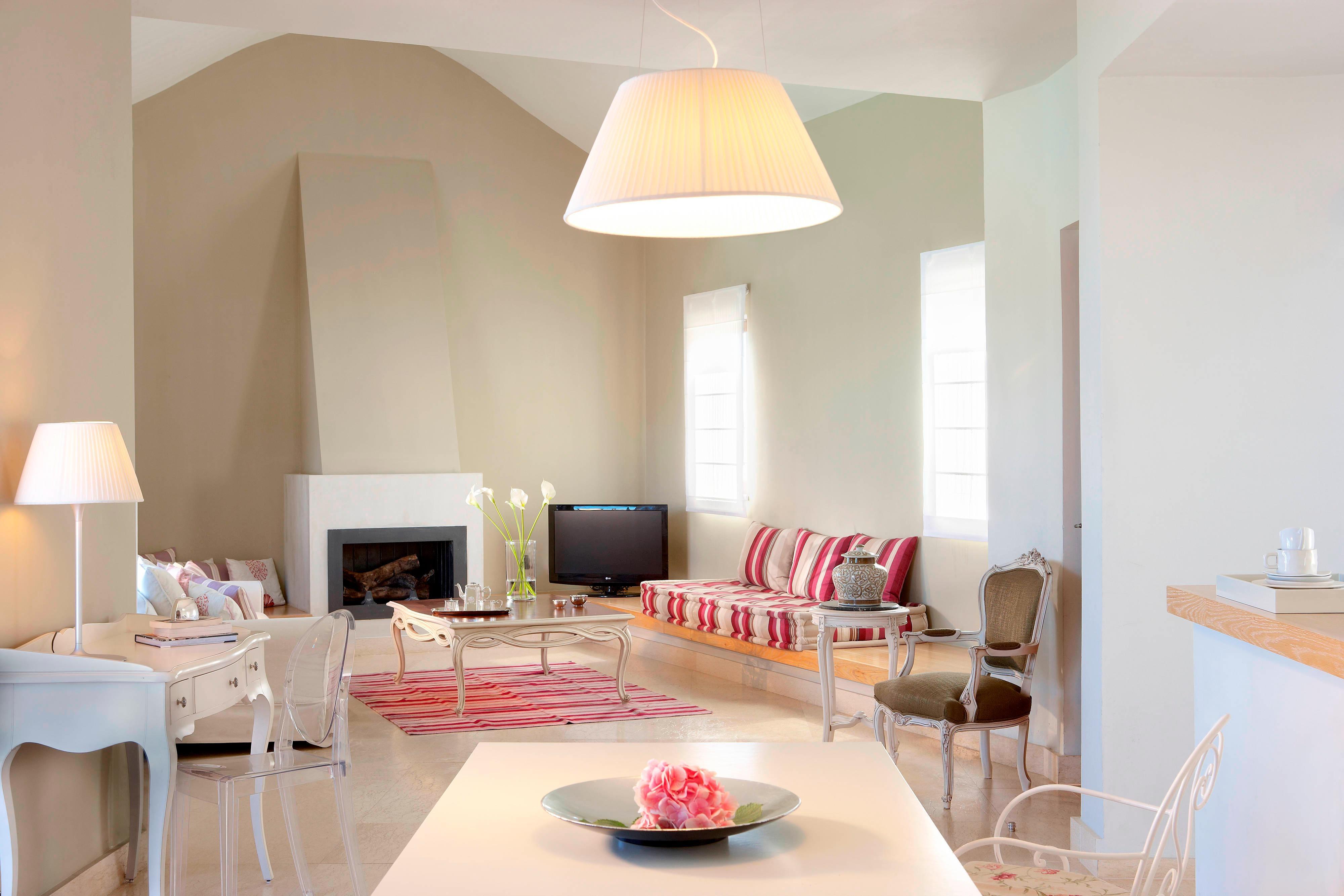 Villa de luxe à deux chambres, salon