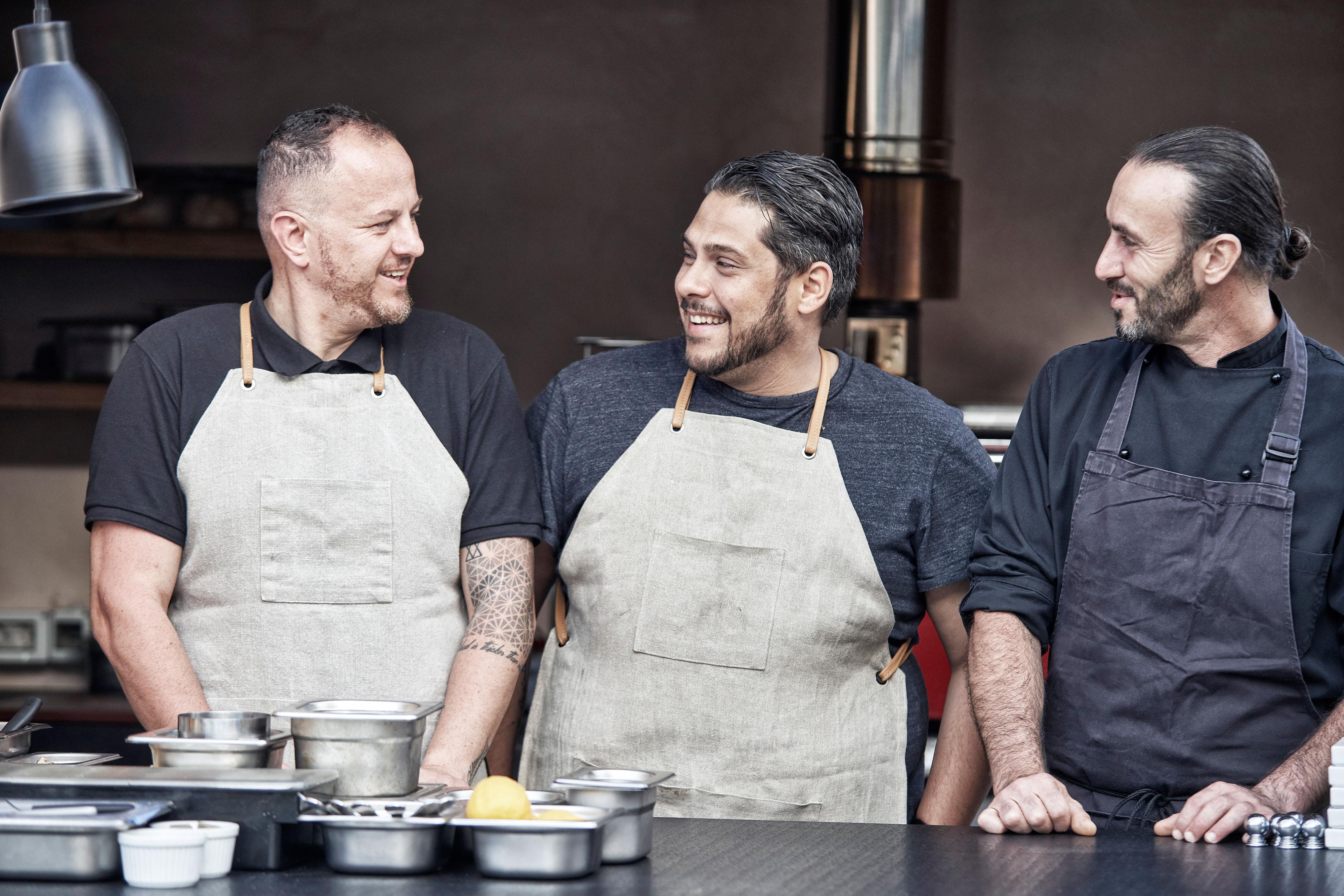 Anthós - Chefs Alexandros Kiousambas, Athinagoras Kostakos and Yiannis Kalivretakis