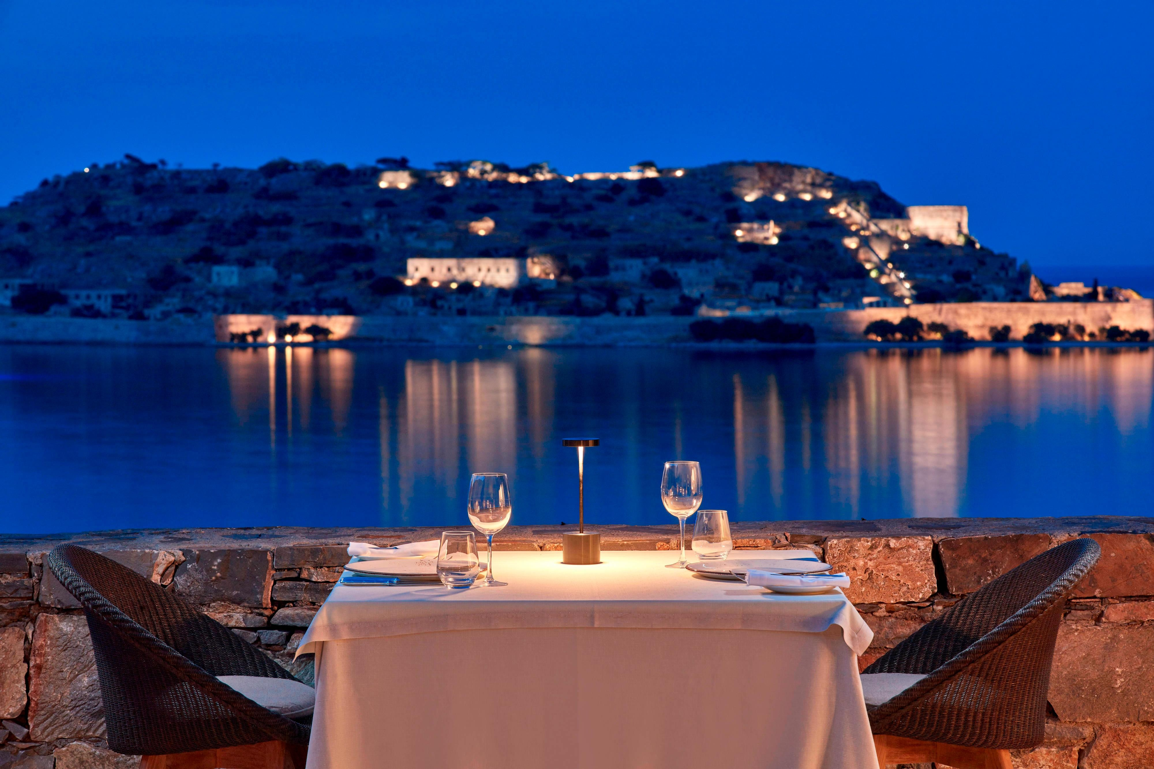 Private Dining at Blue Palace Resort Spa