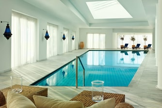 The Elounda Spa & Thalassotherapy Indoor Pool