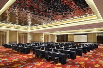 Grand Ballroom Meeting set up