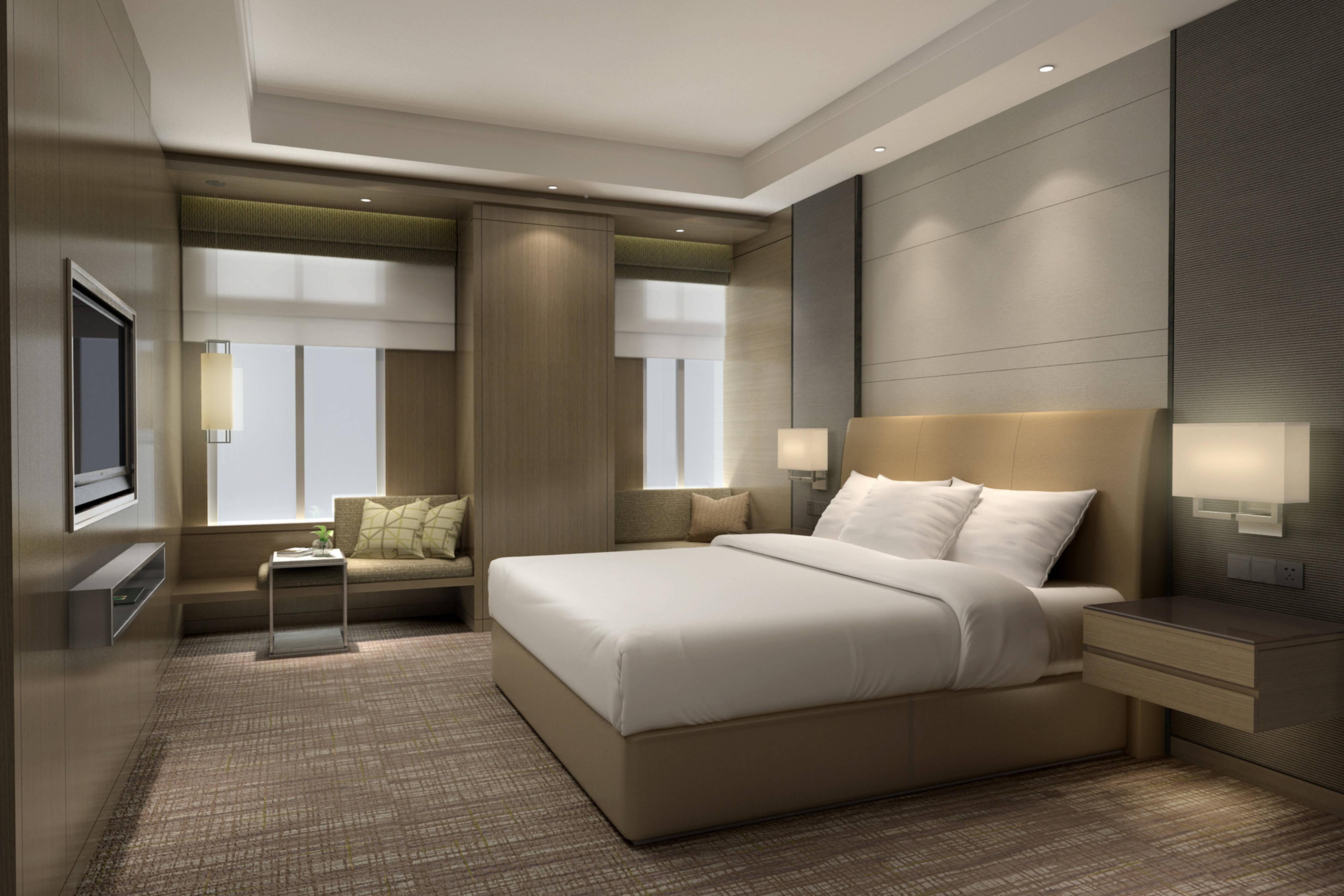 Junior Suite & Executive Suite - Sleeping Area